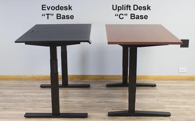 Evodesk vs Uplift Desk The JieCang Standing Desk Comparison