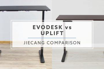 Evodesk vs Uplift Desk: The JieCang Standing Desk Comparison