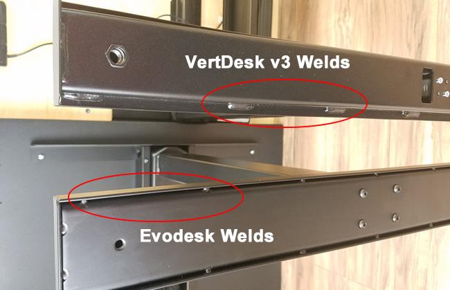evodesk-vs-vertdesk-foot-welds