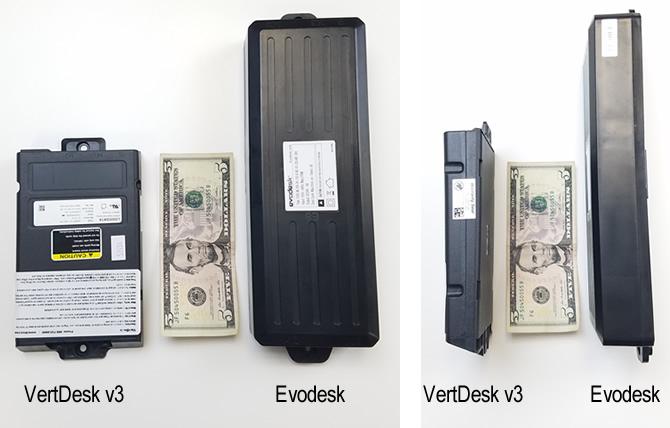 VertDesk v3 and Evodesk Control Boxes