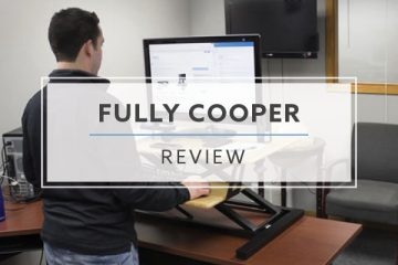 Fully Cooper Standing Desktop Converter (2019 Review / Rating / Pricing)