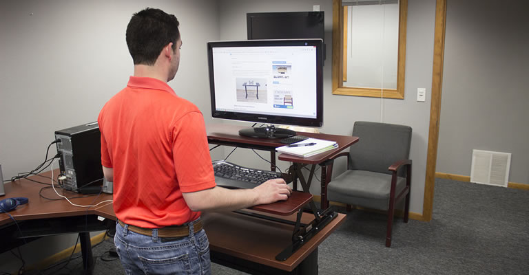Halter ED-258 Standing Desk Converter (Review / Rating ...