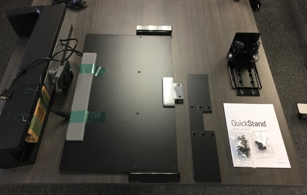 Humanscale Quickstand Parts