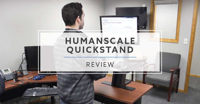 Humanscale QuickStand Standing Desk Converter (2020 Review / Rating / Pricing)