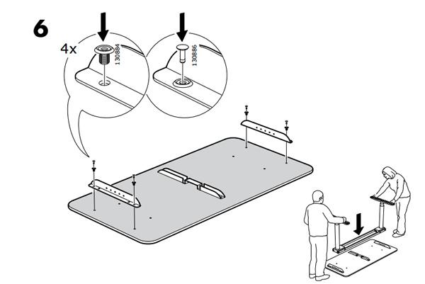 IKEA Bekant Assembly