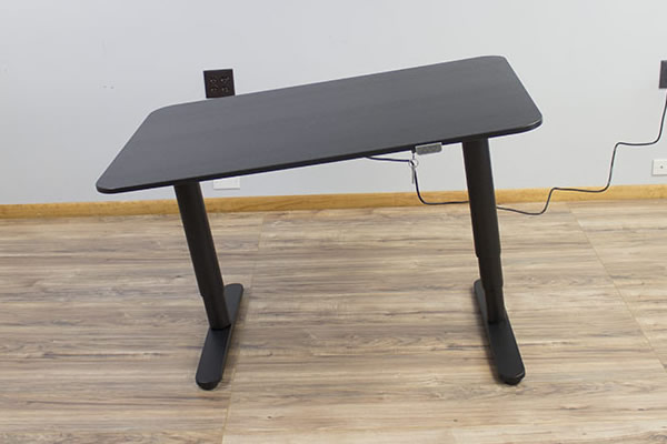Crooked IKEA Bekant Desk