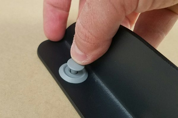 IKEA Locking Mechanism For Fastener