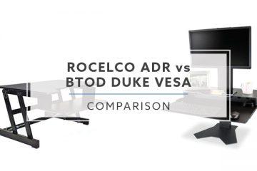 Rocelco ADR VS. BTOD Duke VESA: Which Desktop Riser is Better? (2019)