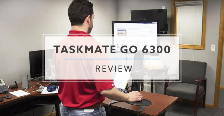 TaskMate Go 6300 Standing Desk Converter Review Rating Pricing