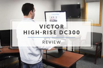 Victor High-Rise DC300 & DC350 Sit Stand Converter (2021 Review/Rating/Pricing)