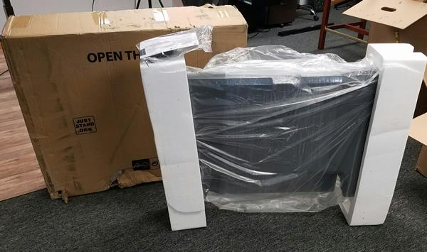 Workfit T packaging