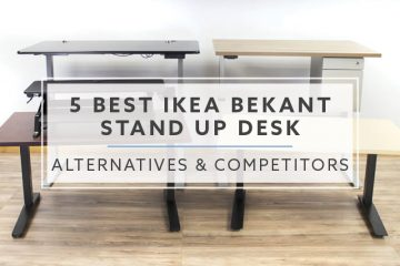 5 Best IKEA Bekant Stand Up Desk Alternatives and Competitors in 2019