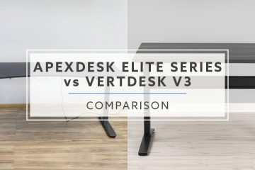ApexDesk Elite Series vs. VertDesk v3: Which standing desk is better in 2019?