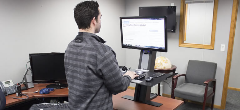 office desks for tall people. Humanscale Quickstand Good For Tall Users Office Desks People