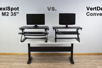 FlexiSpot M2 35″ vs The VertDesk Converter: Which is better?