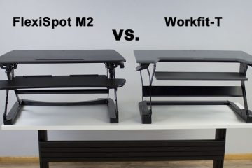 FlexiSpot M2 VS. Ergotron WorkFit-T: Which is the better converter?