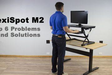 Top 6 Problems with the FlexiSpot M2 Standing Desk Converter
