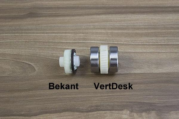 Gears inside motor