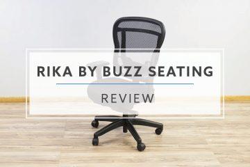Buzz Seating Rika Ergonomic Mesh Chair (Review / Rating / Pricing)