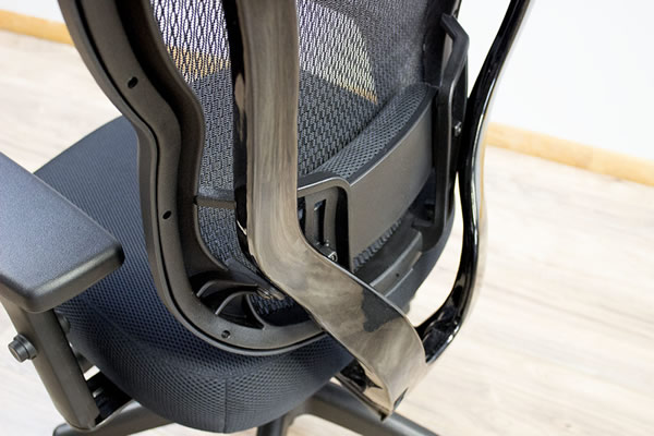 Back support with adjustable lumbar system & Buzz Seating Rika Ergonomic Mesh Chair (Review / Rating / Pricing)