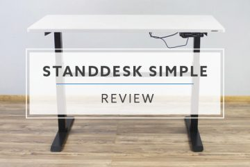 StandDesk Simple Electric Standing Desk (Review / Ratings / Pricing)