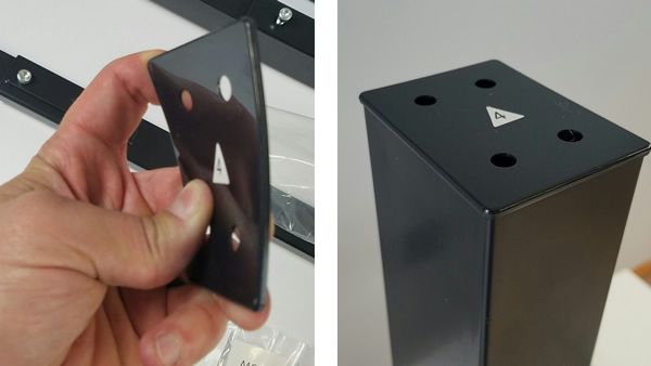 StandDesk Stabilizing foot plate