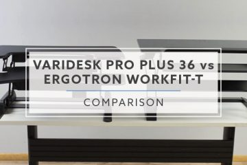 VARIDESK ProPlus™ 36 vs Ergotron WorkFit-T: Which is better? (2019)