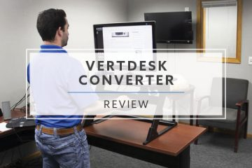 The VertDesk Converter Standing Desk Riser (2020 Review / Rating / Pricing)