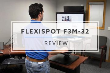 FlexiSpot CompactRiser M5 – 32″ Standing Desk Converter (2019 Review / Rating / Pricing)
