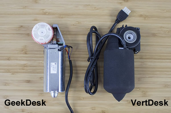 Side motor comparison