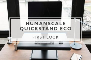 Humanscale QuickStand Eco Standing Desk Converter First Look