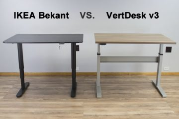 IKEA Bekant VS. VertDesk v3: Which is the better standing desk?