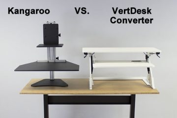 Ergo Desktop Kangaroo vs VertDesk Converter: Which is better?
