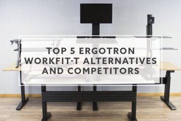 Top 5 Ergotron WorkFit-T Alternatives and Competitors (2019)