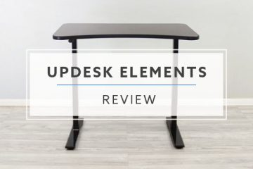 UpDesk Elements Electric Stand Up Desk (Review / Rating / Pricing)