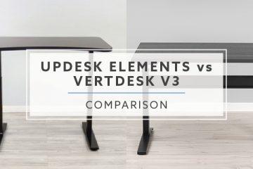 UpDesk Elements VS. VertDesk v3: Which is the better standing desk?