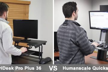 VariDesk Pro Plus 36 VS Humanscale QuickStand: Which is better?