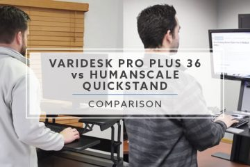 VARIDESK ProPlus™ 36 vs Humanscale QuickStand: Best Pick for 2019