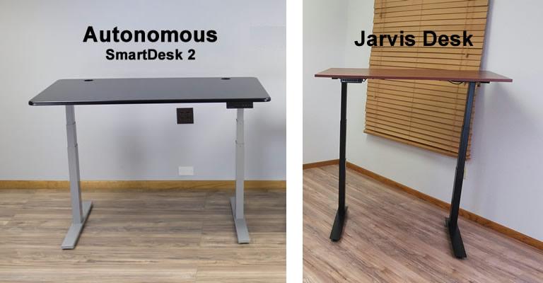 autonomous smartdesk 2 vs jarvis desk which is better. Black Bedroom Furniture Sets. Home Design Ideas