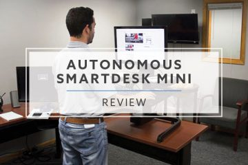 Autonomous SmartDesk Mini Electric Sit Stand Converter (2020- Review / Rating / Pricing)