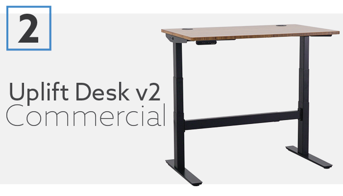 #2 Best Sit to Stand Desk For 2020