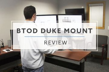 BTOD Duke Mount Standing Desk Converter (2019 Review / Rating / Pricing)