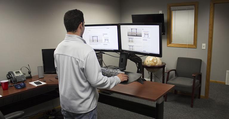 Duke Mount Convertible Standing Desk Review Header