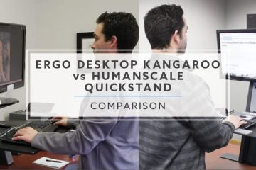 Ergo Desktop Kangaroo vs Humanscale QuickStand: What is best in 2019?