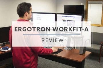 Ergotron WorkFit-A Stand Up Desk Converter (2020 Review / Rating / Pricing)