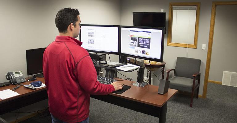 Ergotron WorkFit A Standing Desk Converter