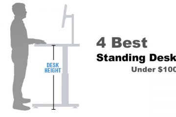 4 Best Electric Standing Desks Under $1000 For 2018