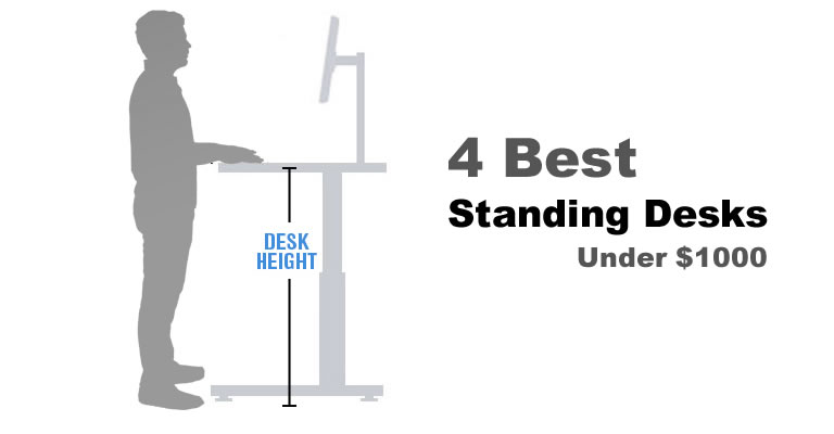 The 4 Best Standing Desks Under $1000 in 2017