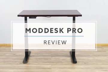 ModDesk Pro Electric Standing Desk From MultiTable (Review / Pricing)