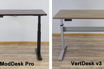 MultiTable ModDesk Pro vs. VertDesk v3: Which is better?